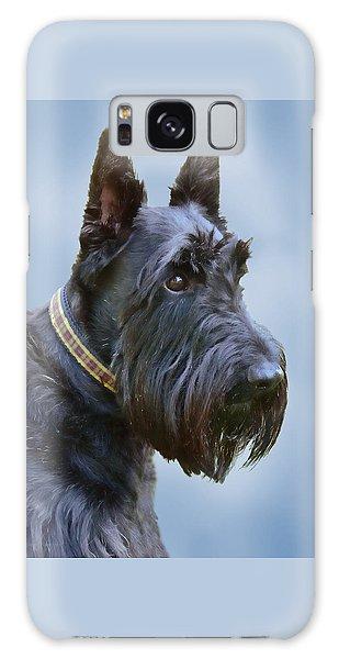 Scottish Terrier Dog Galaxy Case