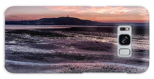 Scrabo Above Strangford Lough Galaxy Case