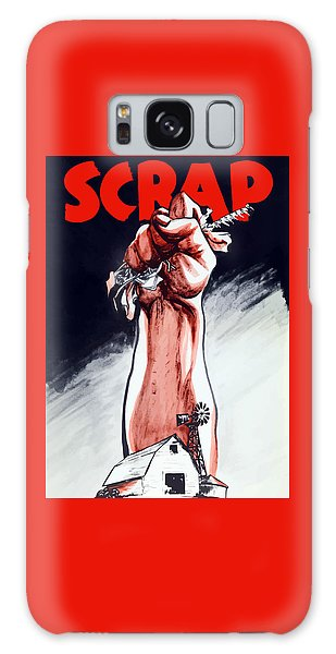 Metal Galaxy Case - Scrap - Ww2 Propaganda by War Is Hell Store