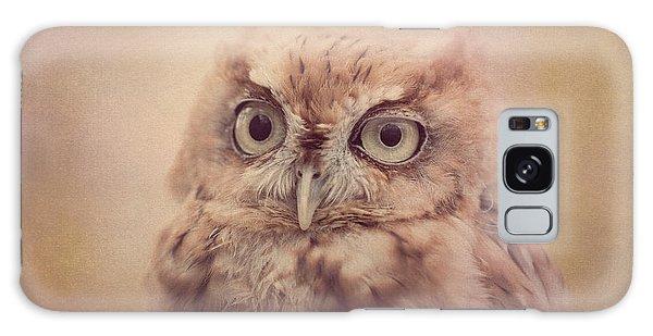 Galaxy Case featuring the photograph Screech Owl 4 by Chris Scroggins