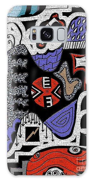Scribble 3 Galaxy Case