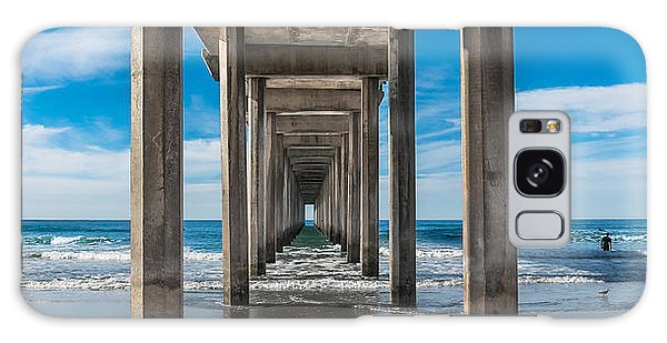 Scripps Pier La Jolla California Galaxy Case
