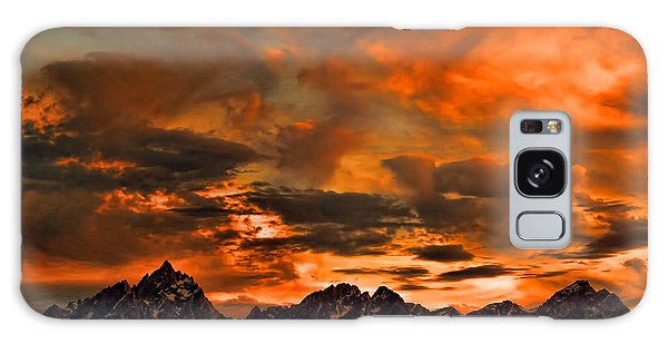 Scripture And Picture Psalm 121 1 2 Galaxy Case by Ken Smith