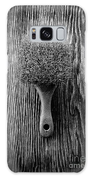 Scrub Brush Up Bw Galaxy Case