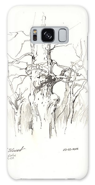 Scrub Oaks In Cottonwood Galaxy Case by John Norman Stewart