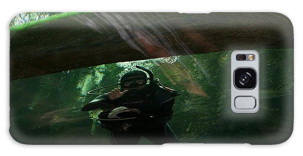 Scuba Diver Galaxy Case