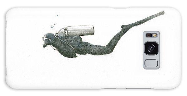Scuba Diving Galaxy Case - Scuba Diver  by Juan Bosco