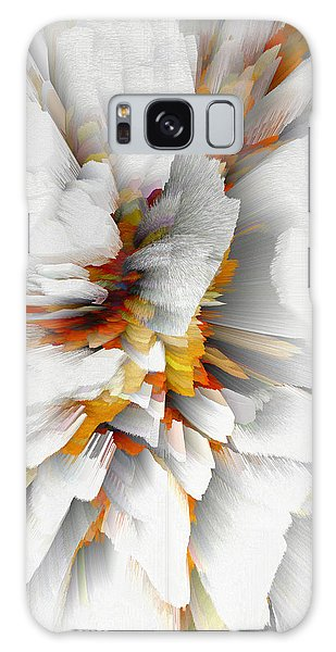 Galaxy Case featuring the digital art Sculptural Series Digital Painting 22.120210 by Kris Haas