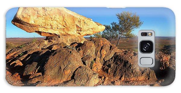Sculpture Park Broken Hill Galaxy Case by Bill Robinson