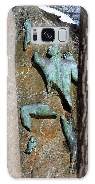 Sculpture Stony Brook New York Galaxy Case