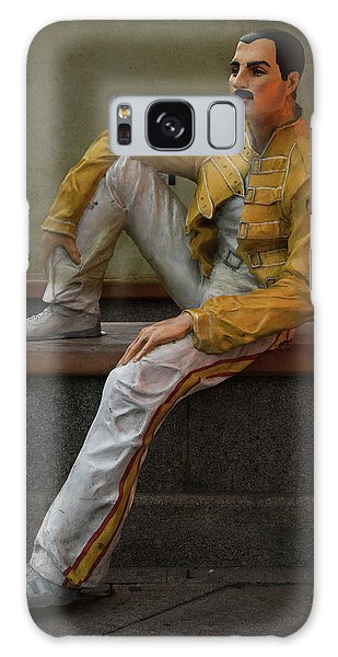 Sculptures Of Sankt Petersburg - Freddie Mercury Galaxy Case