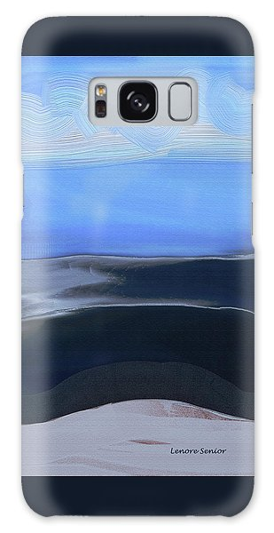 Sea And Sky Galaxy Case by Lenore Senior