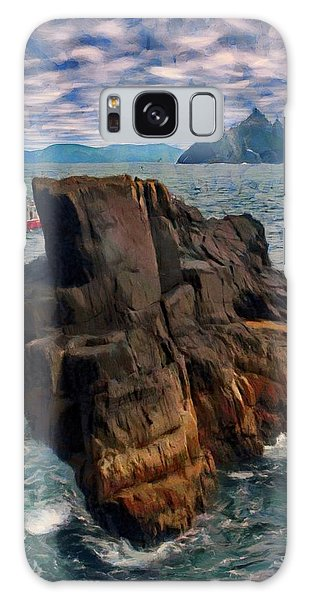 Sea And Stone Galaxy Case by Jeff Kolker