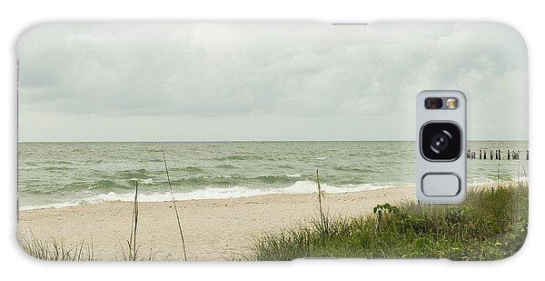 Sea Birds Awaiting The Rain Galaxy Case by Christopher L Thomley