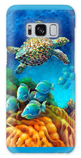 Sea Escape IIi - Gemstone Hawksbill Turtle Galaxy Case