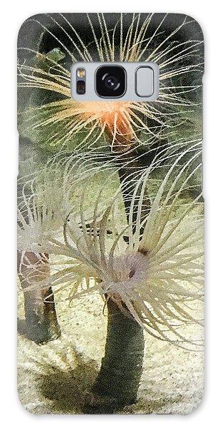 Sea Flower Galaxy Case by Daniel Hebard