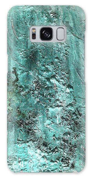 Sea Foam Galaxy Case