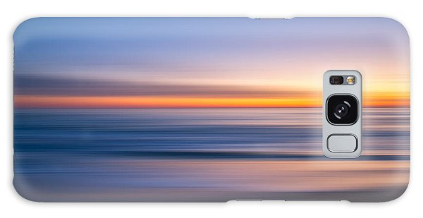 Sea Girt New Jersey Abstract Seascape Sunrise Galaxy Case