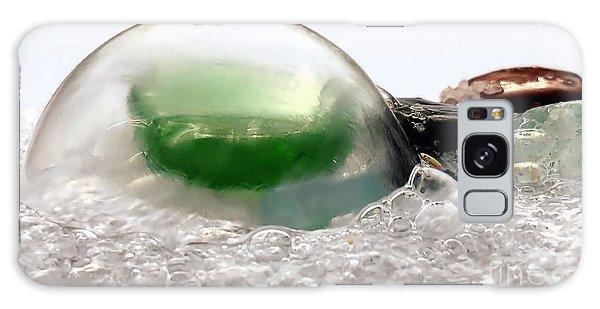 Sea Glass In A Bubble Galaxy Case