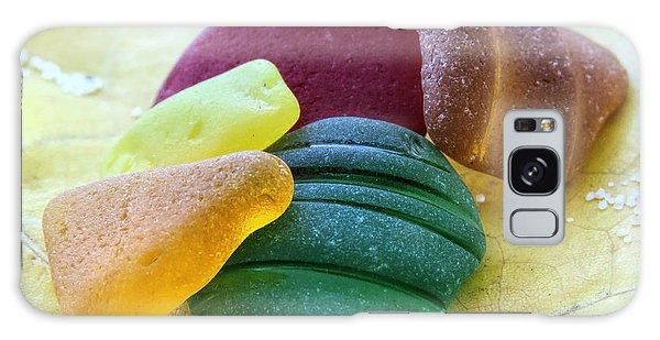 Sea Glass In Foliage Colors Galaxy Case