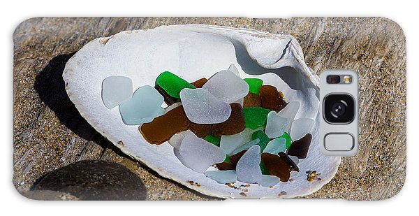 Sea Glass Treasure  Galaxy Case