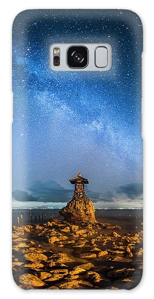 Sea Goddess Statue, Bali Galaxy Case