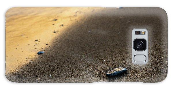Sea Gold Galaxy Case