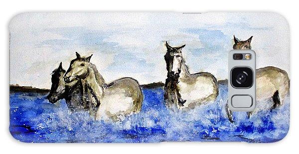 Sea Horses Galaxy Case