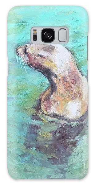 Sea Lion Galaxy Case by Yoshiko Mishina