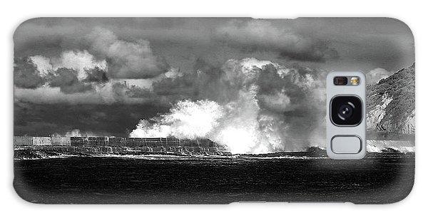 Galaxy Case featuring the photograph Sea Meets Sky by Nareeta Martin