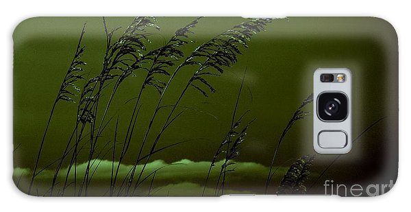 Sea Oat And Clouds Galaxy Case by Janice Spivey