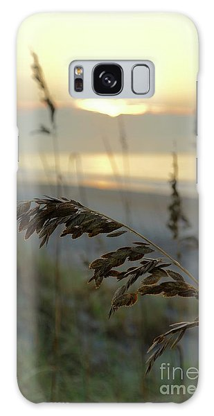 Galaxy Case - Sea Oats At Sunrise by Megan Cohen