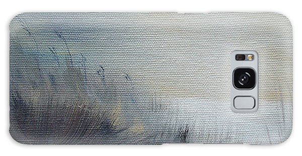 Galaxy Case featuring the painting Sea Oats by Judith Rhue