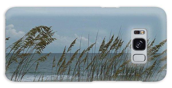 Sea Oats On Wrightsville Beach Galaxy Case