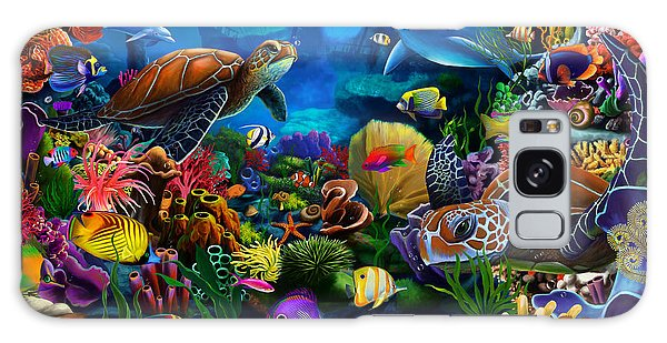 Scuba Diving Galaxy Case - Sea Of Beauty by MGL Meiklejohn Graphics Licensing