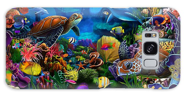 Reef Diving Galaxy Case - Sea Of Beauty by MGL Meiklejohn Graphics Licensing