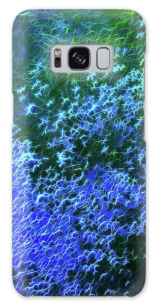 Sea Of Blue Galaxy Case