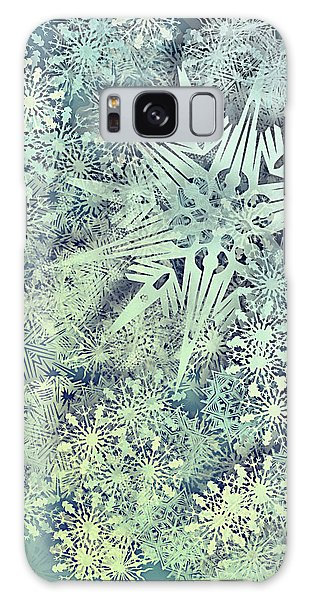 Sea Of Flakes Galaxy Case