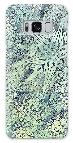 Sea Of Flakes Galaxy Case by AugenWerk Susann Serfezi