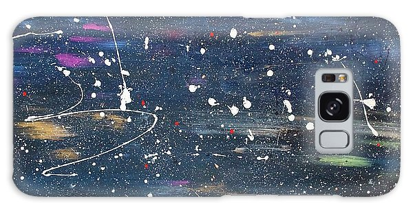 Galaxy Case featuring the painting Sea Of Love by Michael Lucarelli