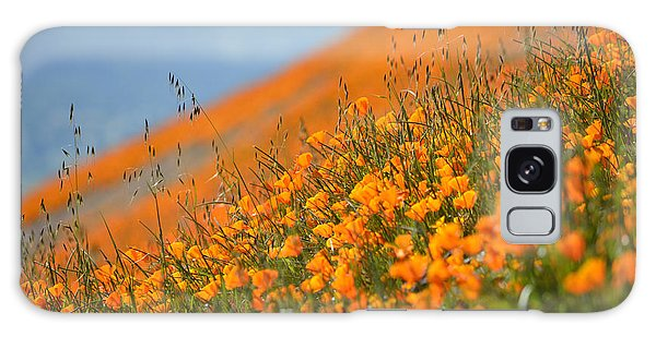 Sea Of Poppies Galaxy Case