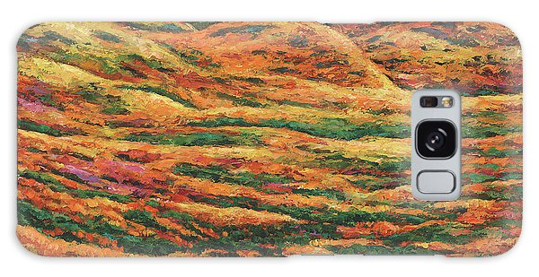 Foliage Galaxy Case - Sea Of Tranquility by Johnathan Harris