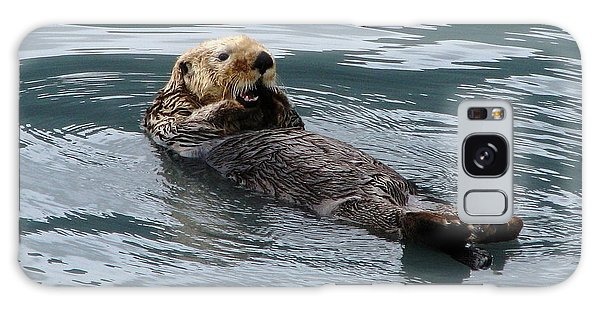 Otter Galaxy Case - Sea Otter by Angie Vogel