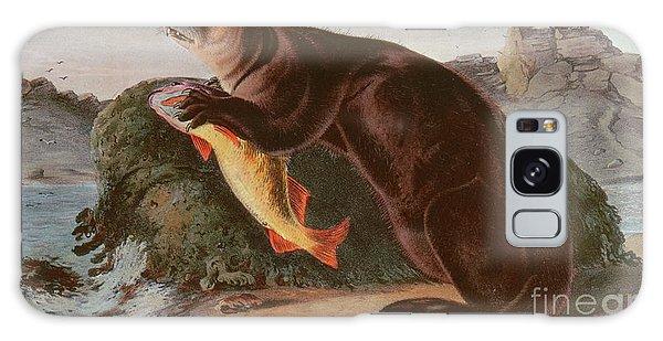 Otter Rock Galaxy Case - Sea Otter by John James Audubon