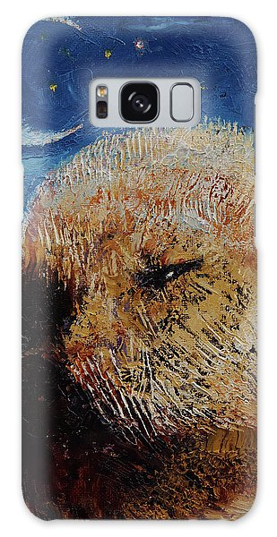 Otter Galaxy Case - Sea Otter Pup by Michael Creese