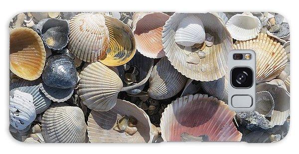 Sea Shell Mozaic Galaxy Case by Ellen Meakin