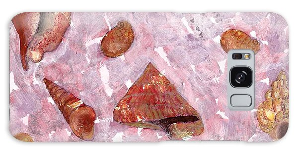 Sea Shells Galaxy Case