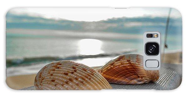 Sea Shells Galaxy Case by Josy Cue
