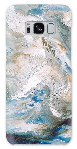 Sea Shells Galaxy Case by M Diane Bonaparte