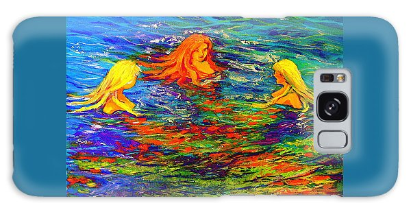 Sea Sisters Revisited Galaxy Case by Jeanette Jarmon